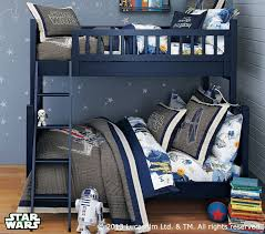 Camp TwinOverFull Bunk Bed Pottery Barn Kids - Navy bunk beds