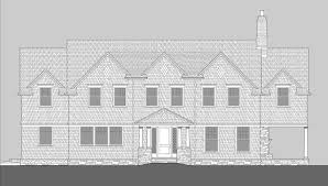 Shingle Style Home Plans Seal Harbor Shingle Style Home Plans By David Neff Architect
