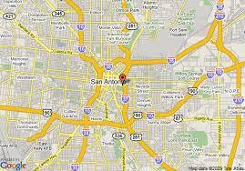 houston map convention center map of la quinta inn convention center san antonio san antonio