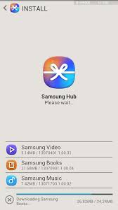 samsung apps store apk samsung ditches media and hubs replaces them with the