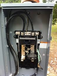 i have a 200 amp panel outside my house which is supplied from
