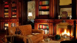 awesome home library fireplace pictures home ideas design cerpa us