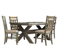 amazon com powell turino dining set 5 piece table u0026 chair sets