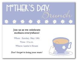s day brunch invitation printable mothers day brunch invitation template