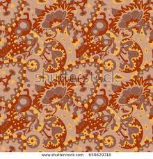 seamless pattern abstract ornaments stock vector 659629318