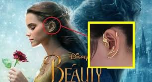 s ear cuffs beauty and the beast earrings ear cuff jewelry gold