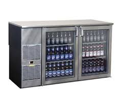 Bar Cabinet With Wine Cooler Glastender Refrigerated Back Bar Cabinet From Restaurant Equipment