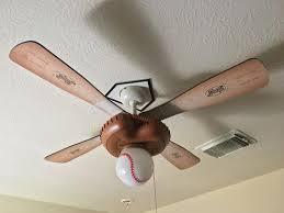 hunter baseball ceiling fan hunter 44 in indoor baseball ceiling fan 23252 at the home depot