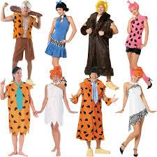 flintstones family halloween costumes new licensed the flintstones fancy dress costume unisex ladies