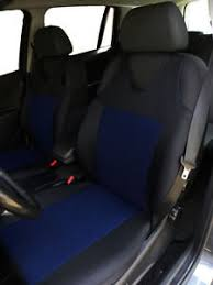 housse siege xsara picasso 2 blue front car seat covers with dots for citroen xsara picasso