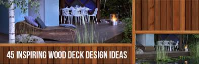 home deck design ideas 45 inspiring wood deck design ideas kebony
