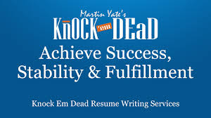military resume writing services knock em dead resume writing career coaching services