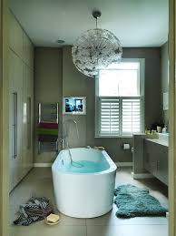 sheepskin bath mat 20 lovely ways cowhide and sheepskin rugs adorn a bathroom home