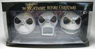 skellington ornament set from our collection