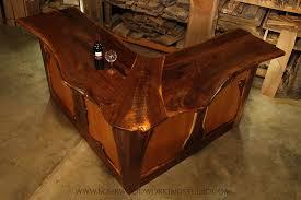 Live Edge Bar Table Live Edge Walnut Bar U2014 Lohr Woodworking Studio