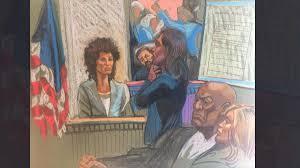drawing on years of courtroom experience n j artist renders