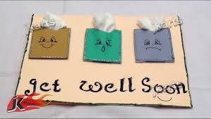 feel better cards diy get well soon greeting card jk arts 178