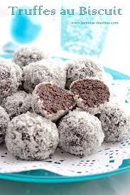 recette de cuisine facile sans four truffes biscuit gâteau truffe biscuit et gateaux