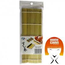 stuoia bamboo stuoia di bamboo per sushi s 24x21 cm