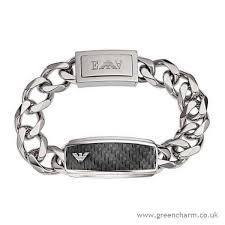 armani bracelet images Emporio armani men 39 s emporio armani stainless steel carbon fibre jpg