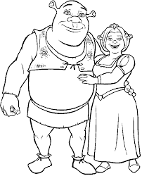 absolutely ideas shrek coloring pages exprimartdesign