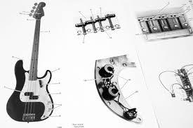 fender squier precision bass 269500 1984 parts list photo
