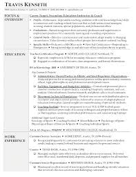 Resumes For Cna Resume High Teaching Position Mental Health Counsellor