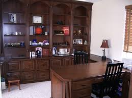 built in desk and home office woodwork creations