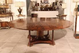 84 inch dining table 90 round mahogany radial dining table with jupe patent action