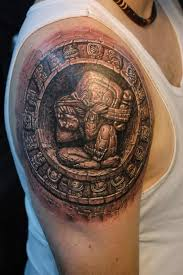 aztec shoulder tattoo designs ideas and meaning tattoos for you