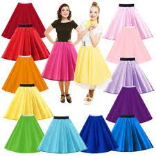 girls u0027 1950s fancy dress skirt ebay