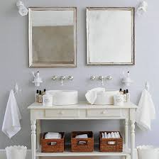 Farm Style Bathroom Vanities White Sink Units For Bathroom In French Farmhouse Style Bathroom