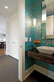Wallpaper Bathroom Ideas Wallpaper Powder Room Ideas 2017 Grasscloth Wallpaper