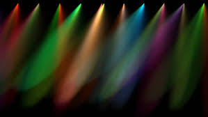 multi coloured stage lights loopable stock footage 2101043