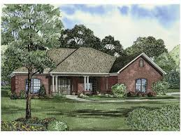 eplans new american house plan brick new american under 2 000 sq