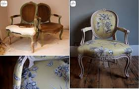 Antique Upholstered Armchairs 28 Before After Reupholstered Chairs