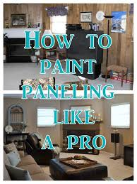 mobile home interior paneling best 25 wood paneling update ideas on painting wood
