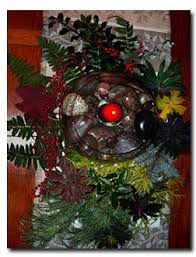 Christmas Decorations From Your Garden by Christmas Ferns Add A Few Fronds For Festive Holiday Decorations