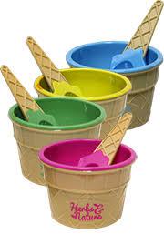 Personalized Ice Cream Bowl Custom Bowls Plastic Glass U0026 Ceramic Branders Promotional Items