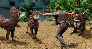Jurassic Park Halloween Costume Jurassic Pup Puppies Replace Raptors 6 Movie Scenes