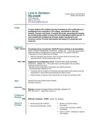 Free Rn Resume Template Example Ng Resumenew Grad Nursing Resume Template New Grad Rn