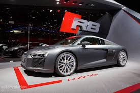 2016 audi r8 v10 reveals the next era of german supercars in