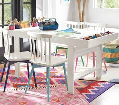 play table and chairs spindle play chairs pottery barn kids