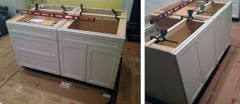 Building Kitchen Base Cabinets Build Kitchen Island From Base Cabinets Medium Size Of Islands