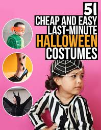 Halloween Costumes Cheap 51 Cheap Easy Minute Halloween Costumes