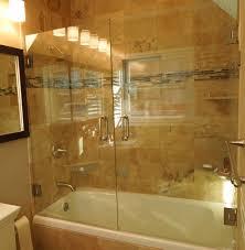 bathroom remodel small contemporary frameless custom f glass