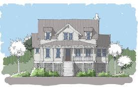 bay collection u2014 flatfish island designs u2014 coastal home plans