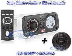sony cdx h905ip rm x11m cdxh905ip rmx11m marine ready cd mp3