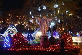 festival of lights springfield ma attleboro s lasalette shrine opens new season of lights local news