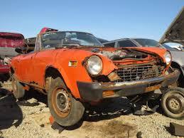 junkyard find 1976 fiat 124 sport spider the truth about cars